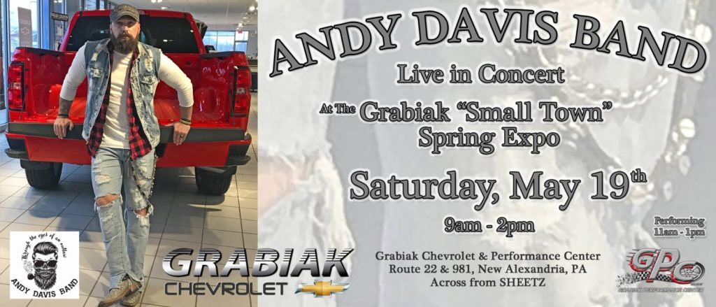 Join Grabiak Chevrolet and Grabiak Performance Center at our annual Spring Expo @ Grabiak Chevrolet | New Alexandria | Pennsylvania | United States